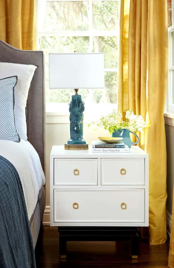 styled nightstand