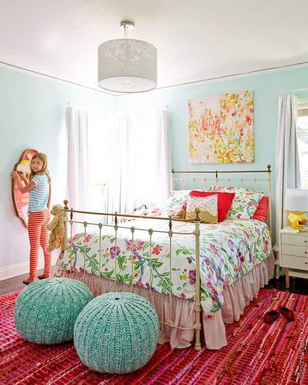 aqua kids bedroom