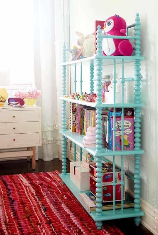 Jenny Lind bookcase