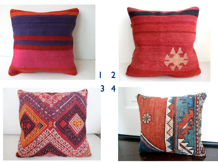 Throw pillow roundup from Etsy | Emily Henderson