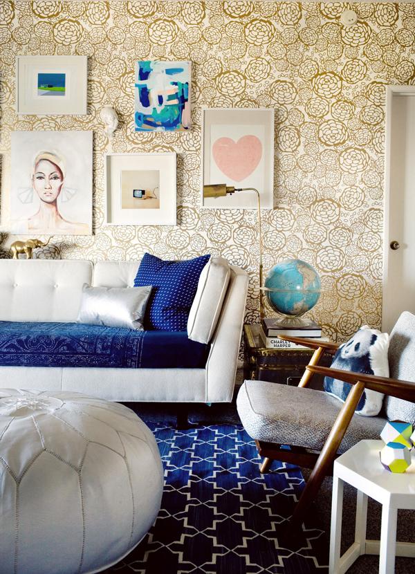 joy cho's living room baby-proofed - stylebyemilyhenderson.com