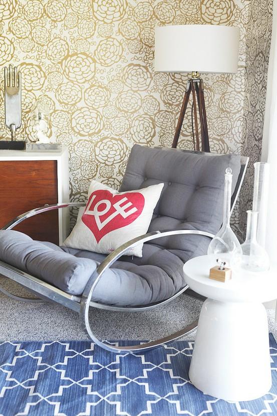 milo baughman chair - stylebyemilyhenderson.com