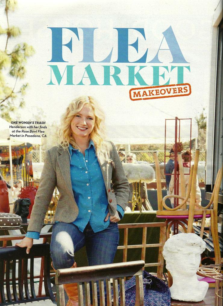Good Housekeeping magazine - Flea market DIY