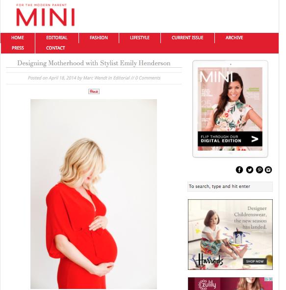 Mini magazine interview