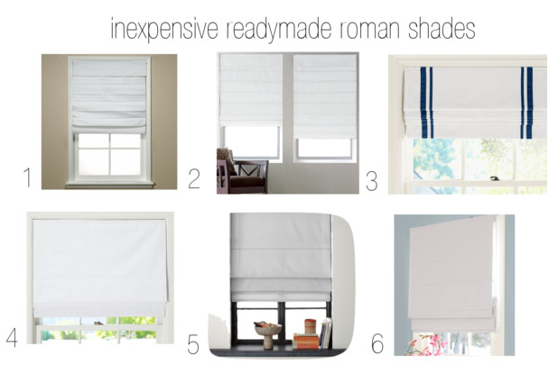 But the thing is that Roman shades are kinda the best because they are ...