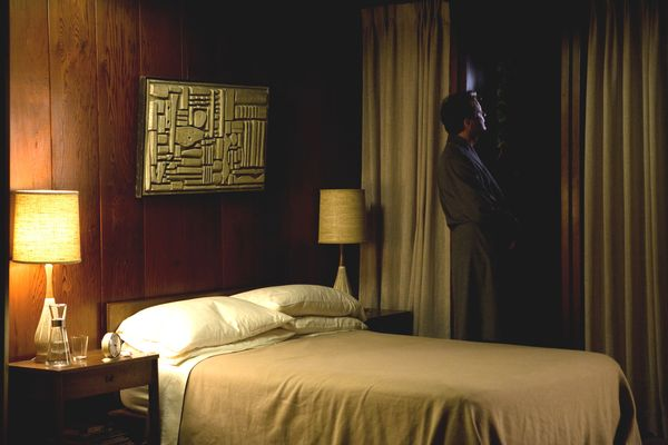 a single man production design
