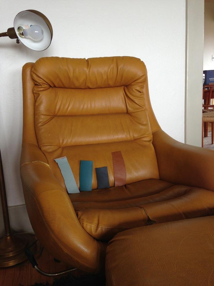 vinyl-chair