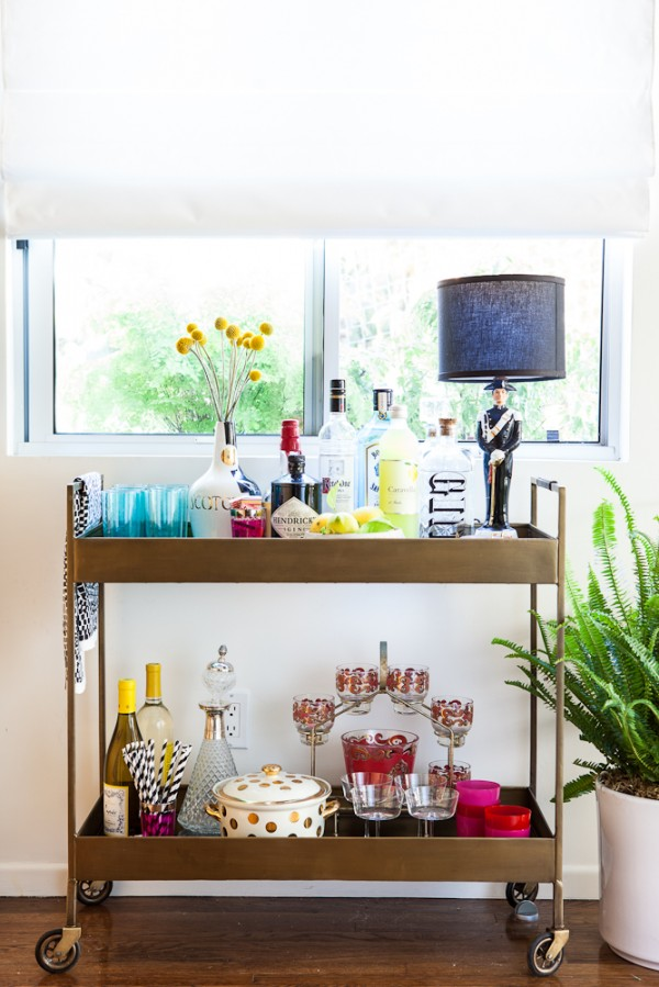 bar-cart-styling