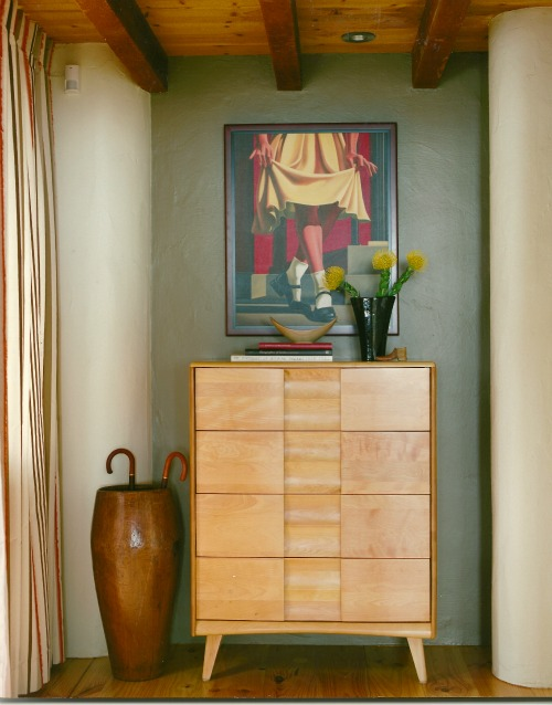 dresser in foyer