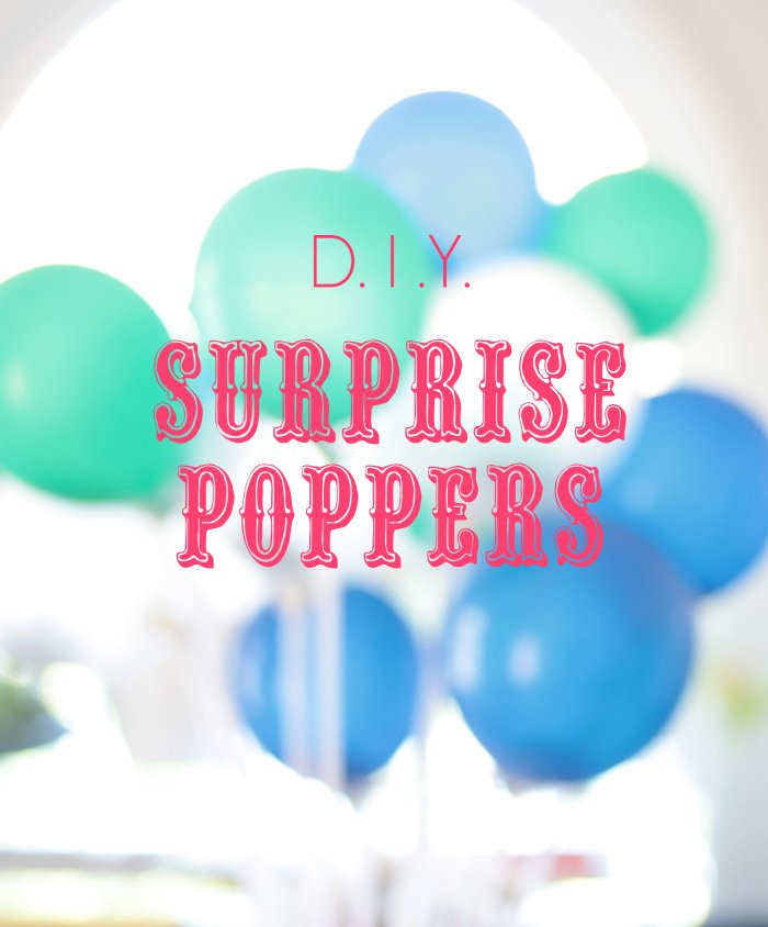 surprise poppers