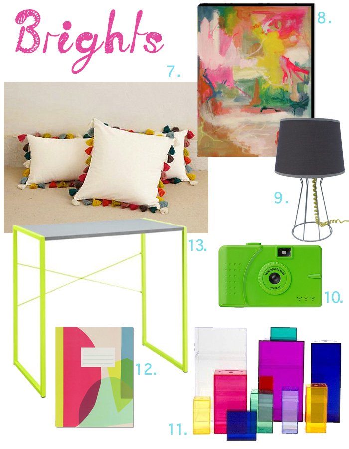 Brights Dorm Room Round Up