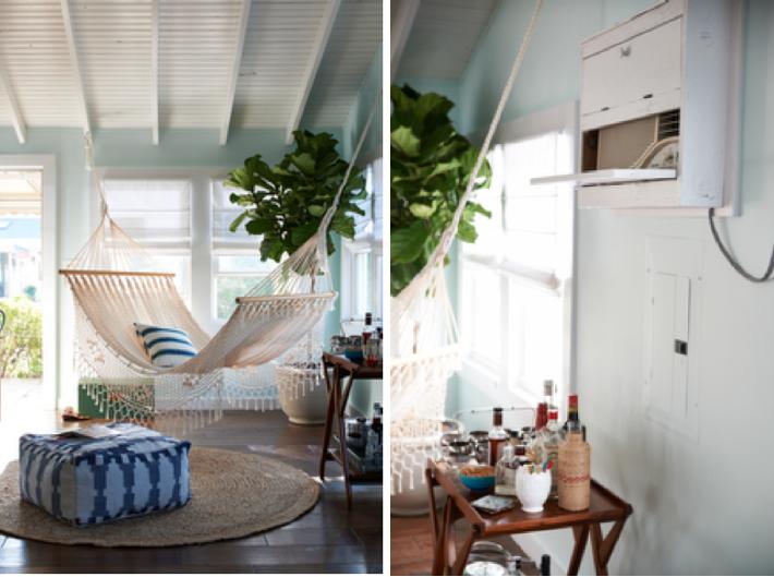 hammock indoors