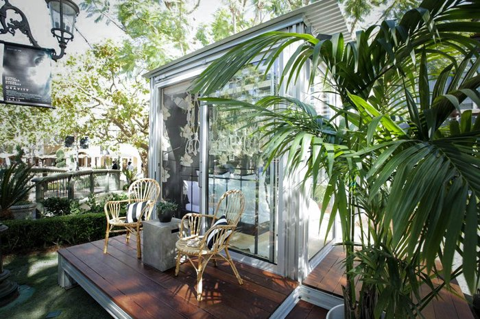 Molly Sims Pop Up House The Grove