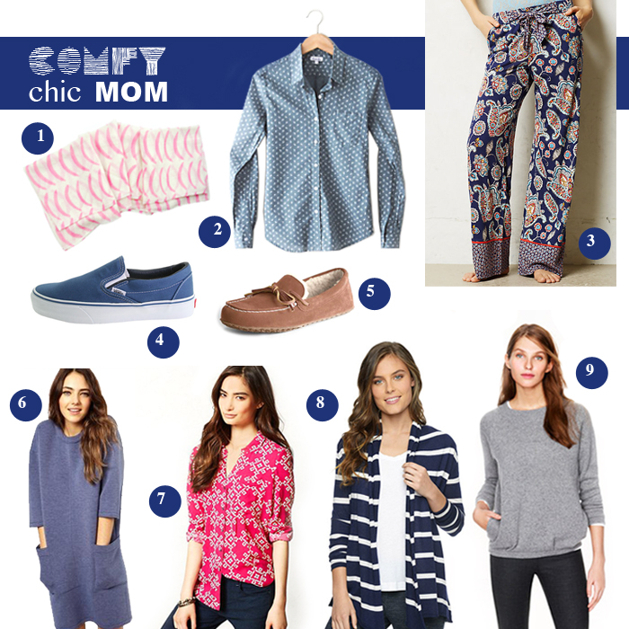 Comfy Chic Mom Clothes