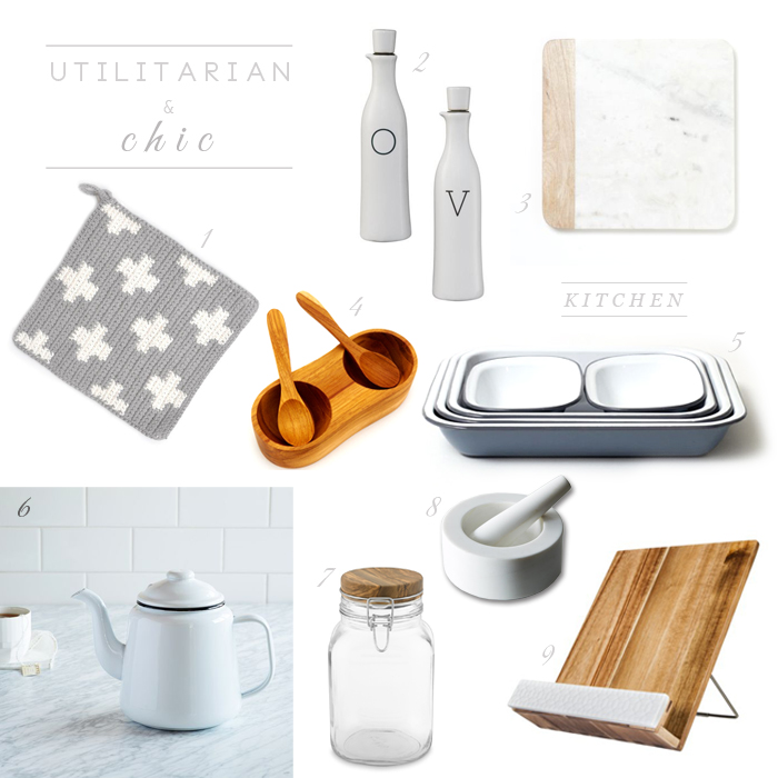 Utilitarian & Chic Kitchen 1