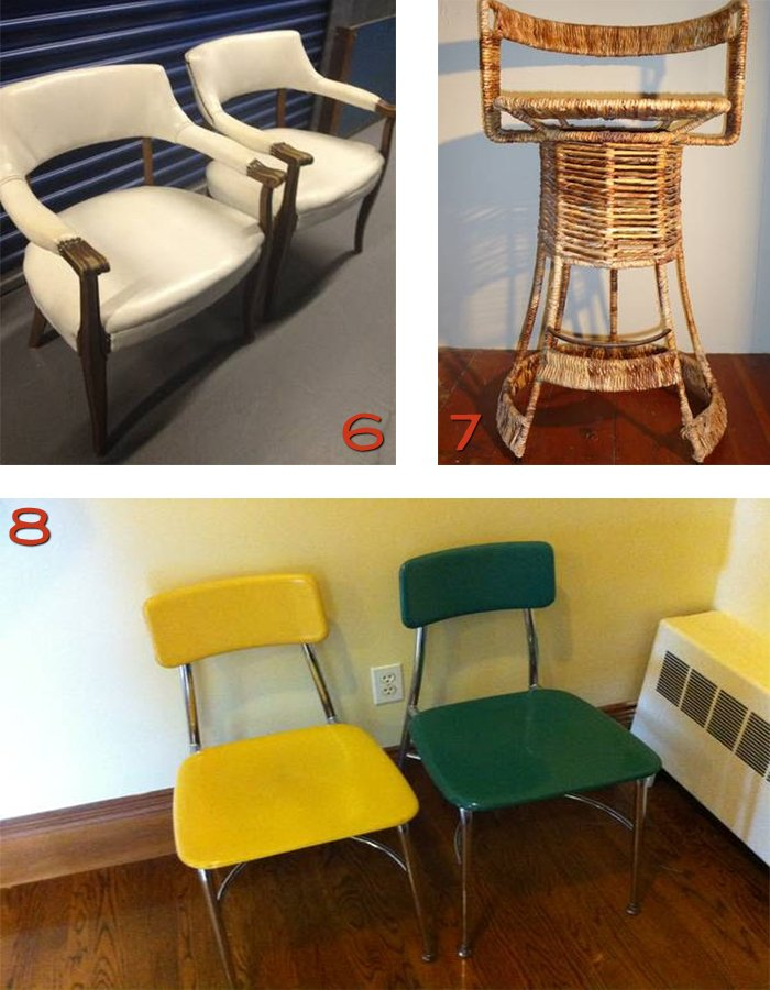 Boston Craigslist barstools chairs