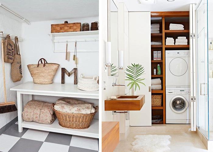 Utilitarian & Chic Laundry