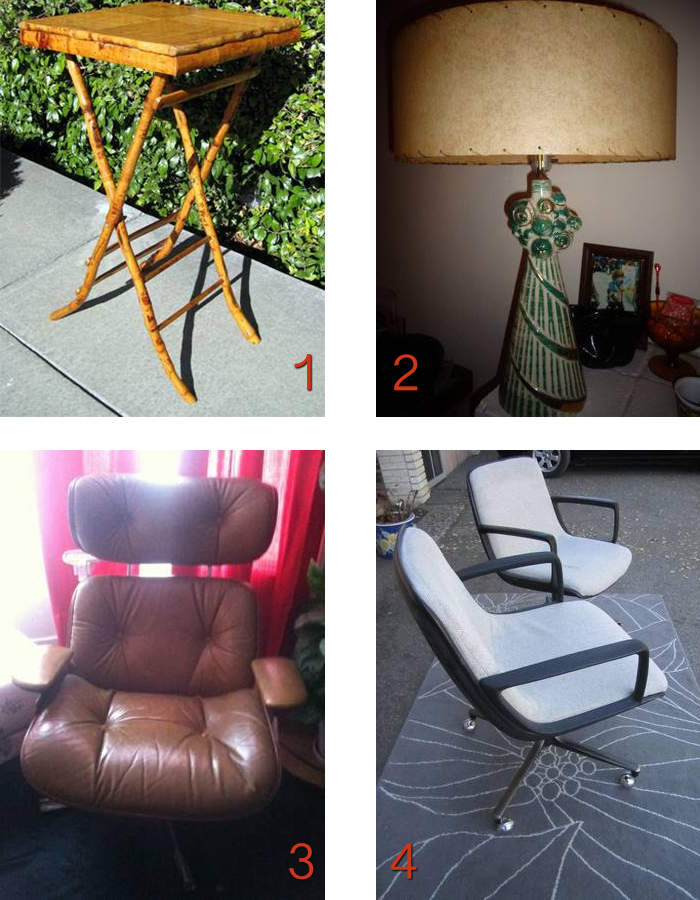 san francisco craigslist bamboo vintage eames chair desk chairs