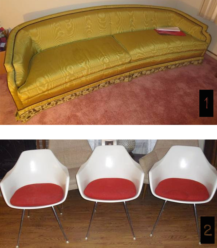 trolling cl detroit vintage couch and chairs