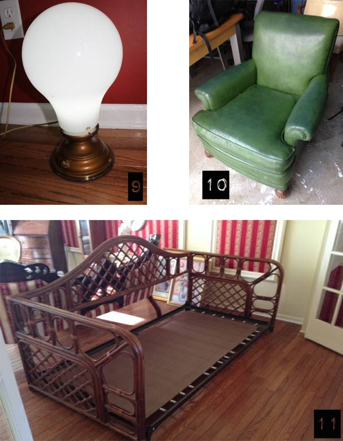 trolling craigslist vintage chair and daybed