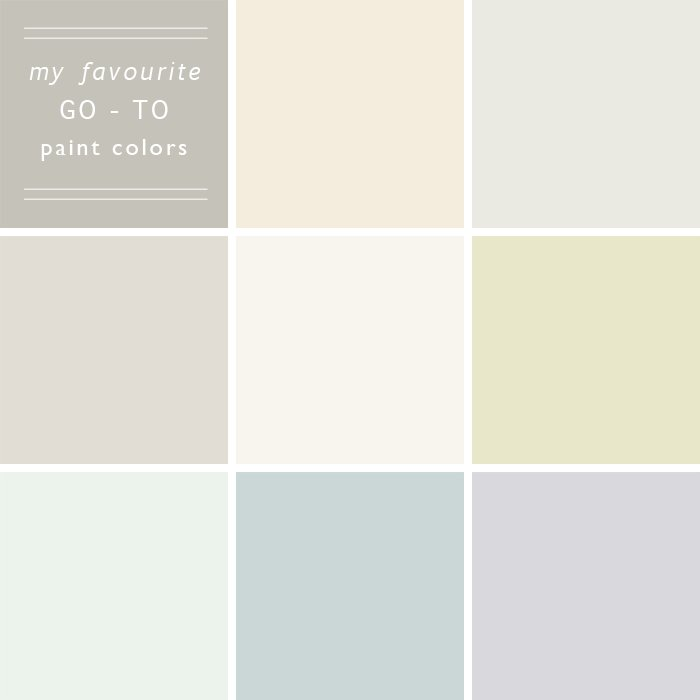Favourite Neutral Paints
