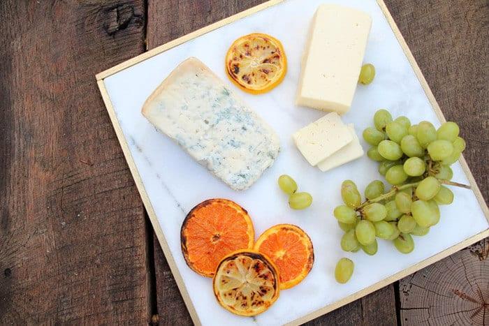 DIY Marble & Gold Cheese Plate | Emily Henderson & Pepper Design Blog