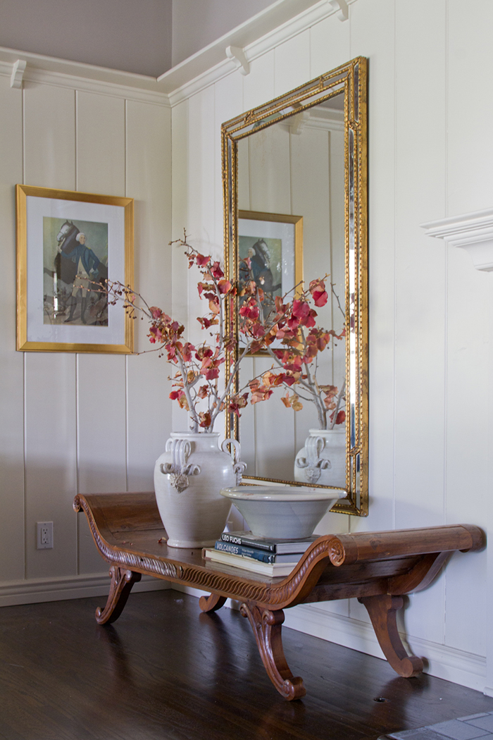 Living Room_ Bench Mirror
