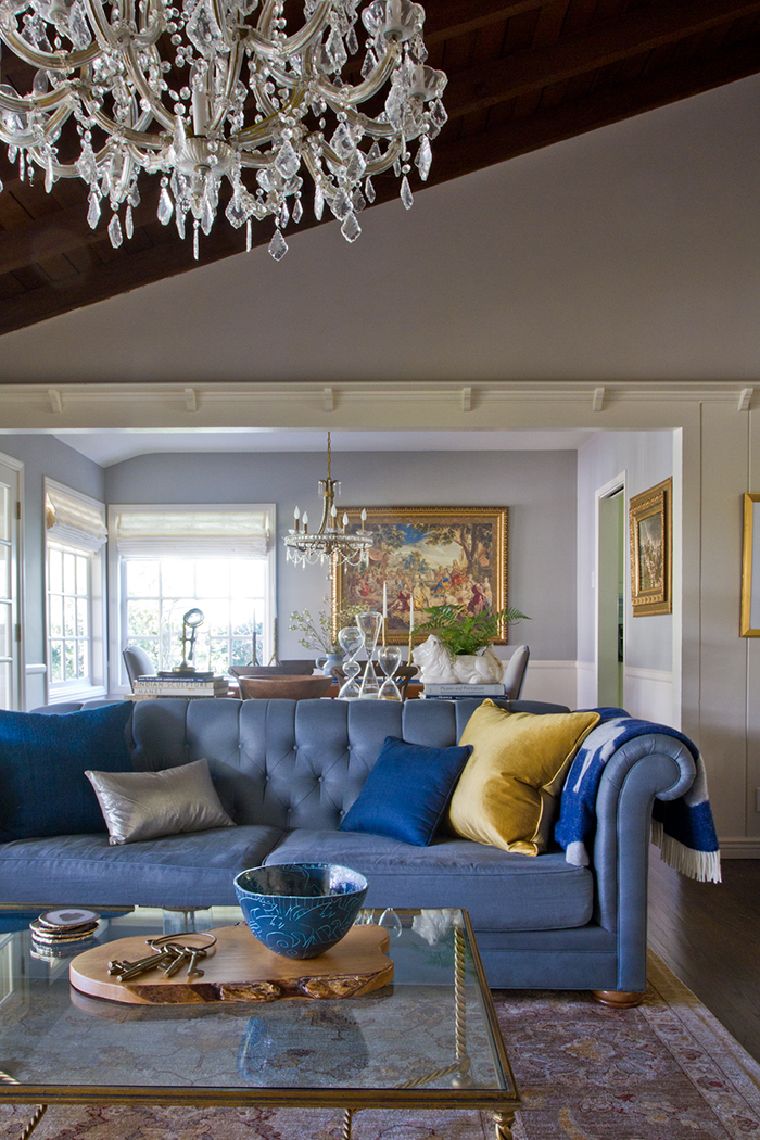 Living Room_Blue Chesterfield