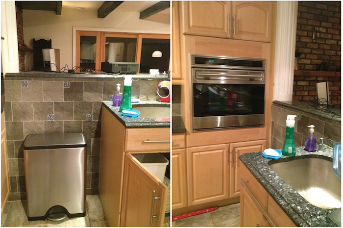 awkward kitchen