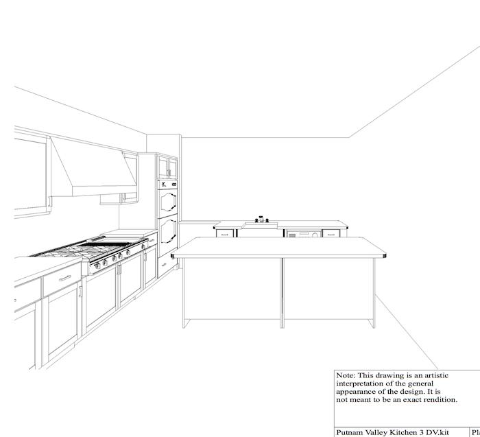 kitchen rendering 2