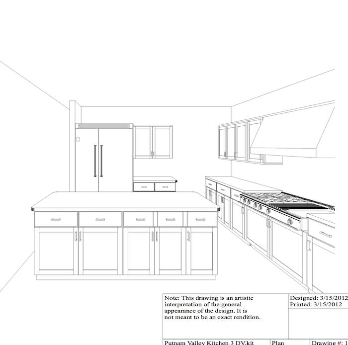 kitchen rendering 4