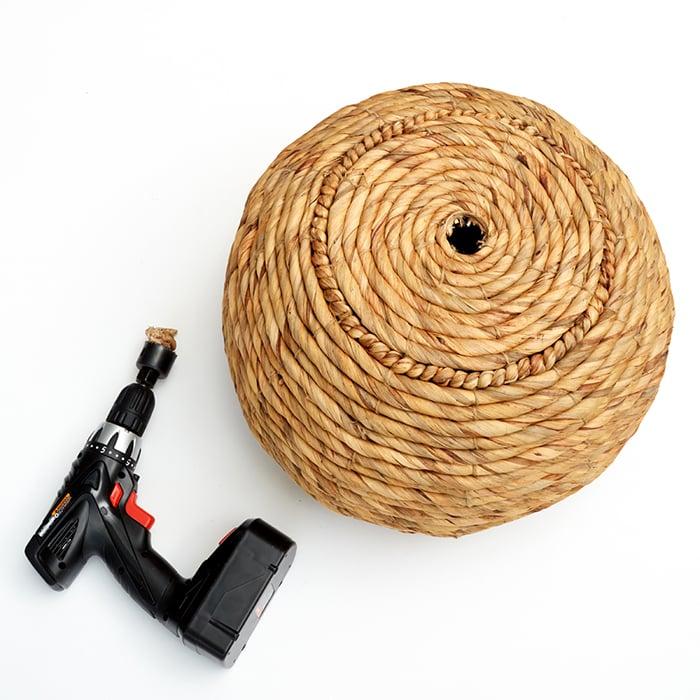 Redbook Basket Lamp_ Drill
