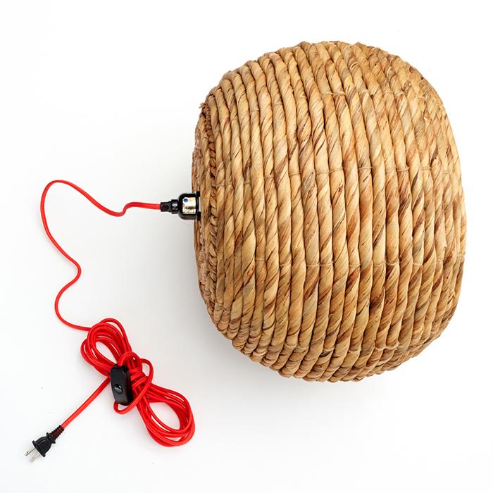 Redbook Basket Lamp_ Wire