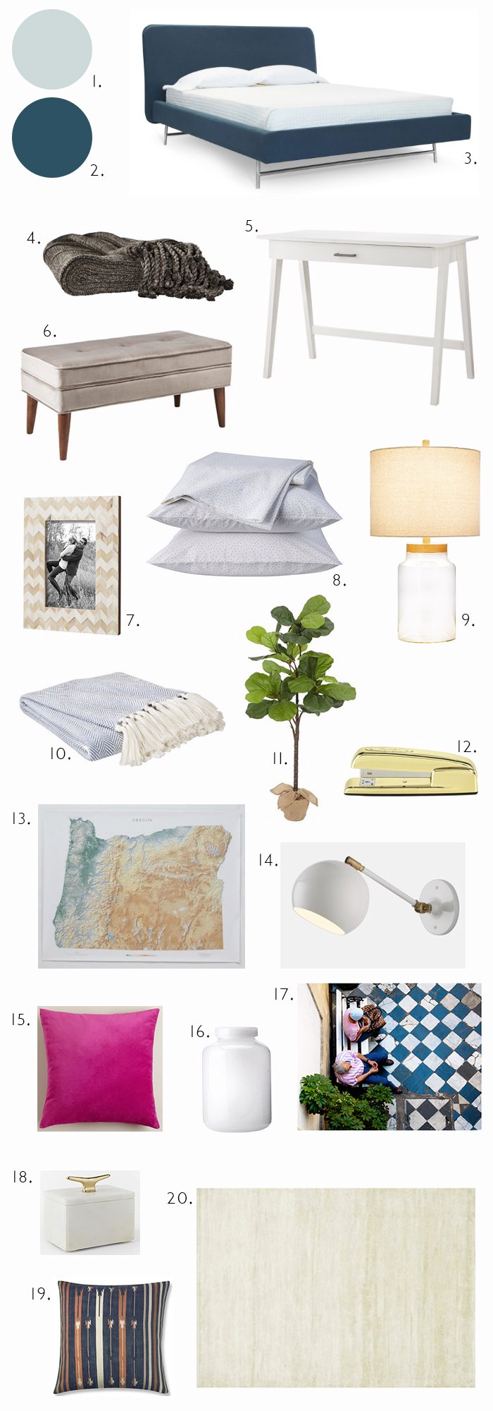 get the look guest bedroom