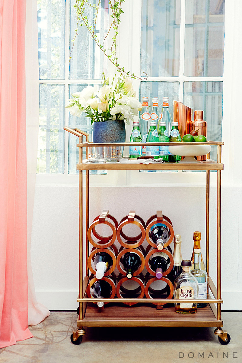 Emily Henderson Studio_ Bar Cart