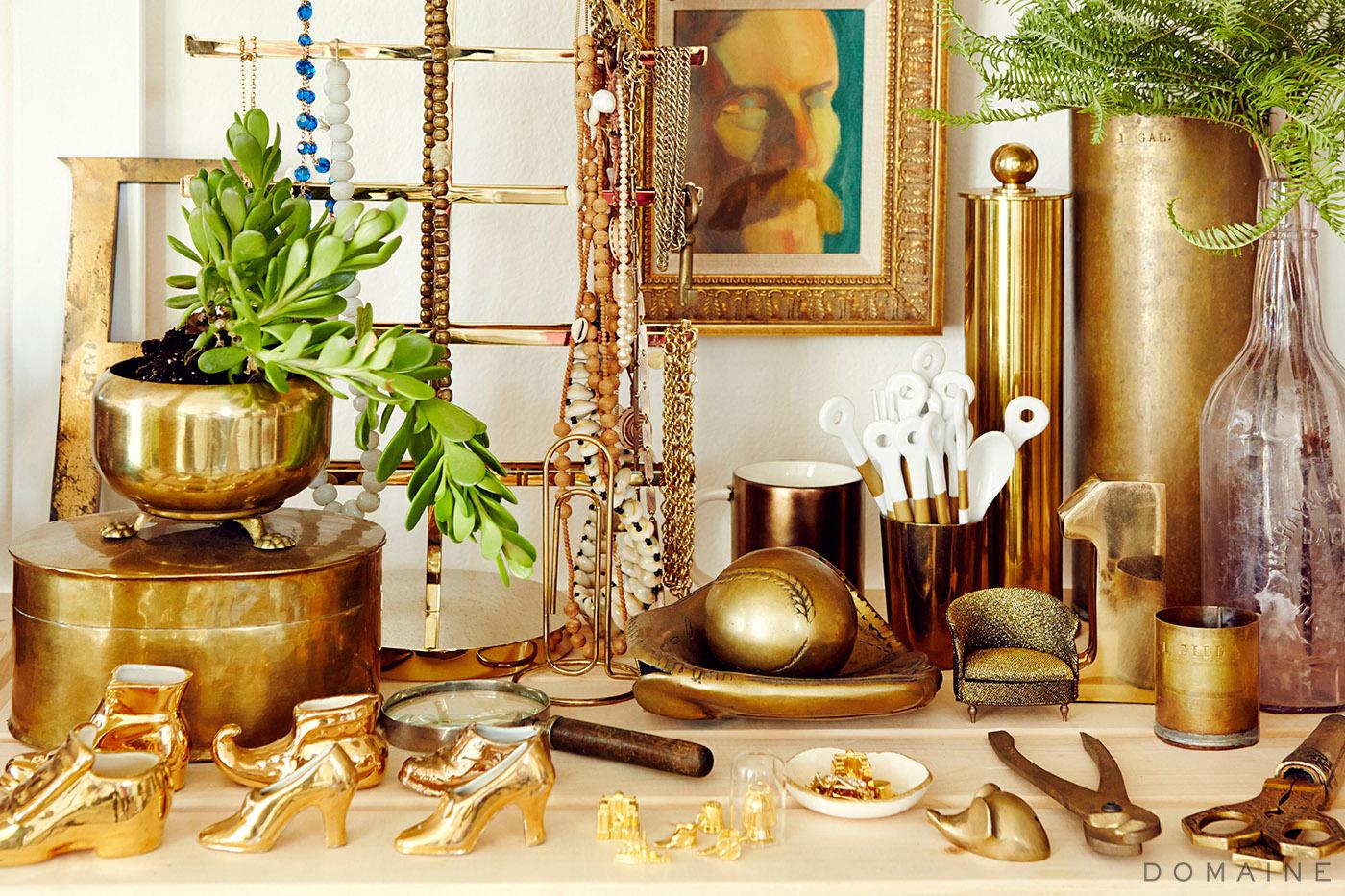 Emily Henderson Studio_ Brass Accesories