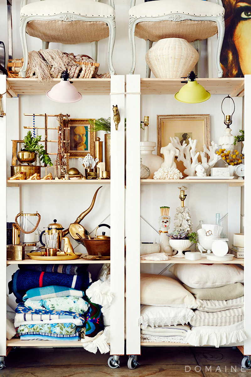 Emily Henderson Studio_ Prop Shelves Accessories