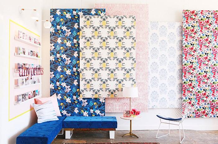Panels_wallpaper-wall emily henderson studio