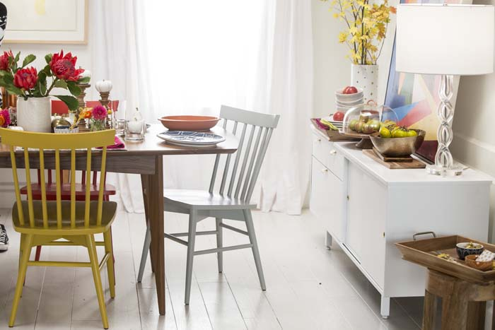 Target Table Setting - Emily Henderson Mid Century Modern