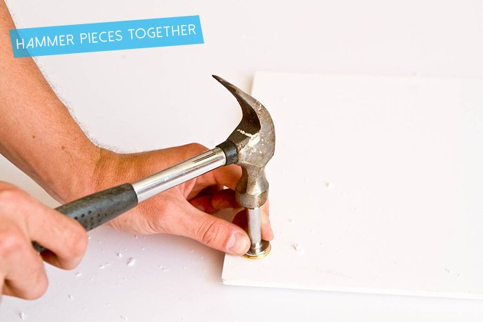 DIY Wallpaper Panel_Hammer Grommet