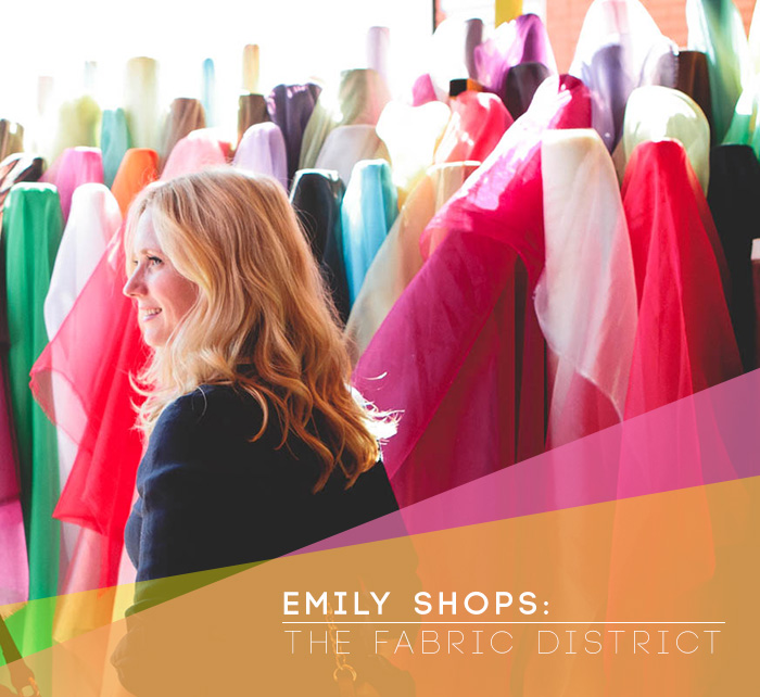Emily Shops the Fabric District