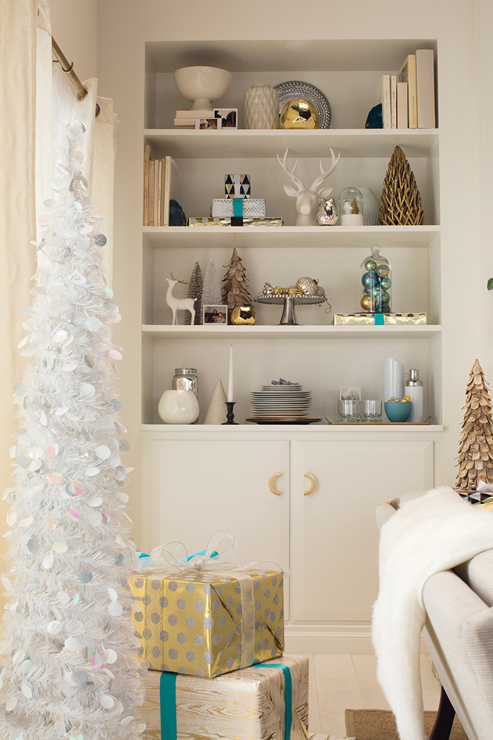 Holiday Target Emily Henderson Shelf Styling