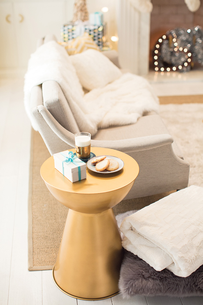 Holiday Target Emily Henderson Side Table Gold