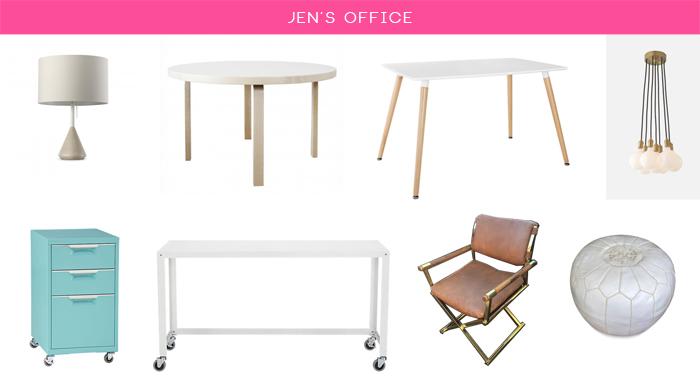 JEN'S OFFICE FURNITURE