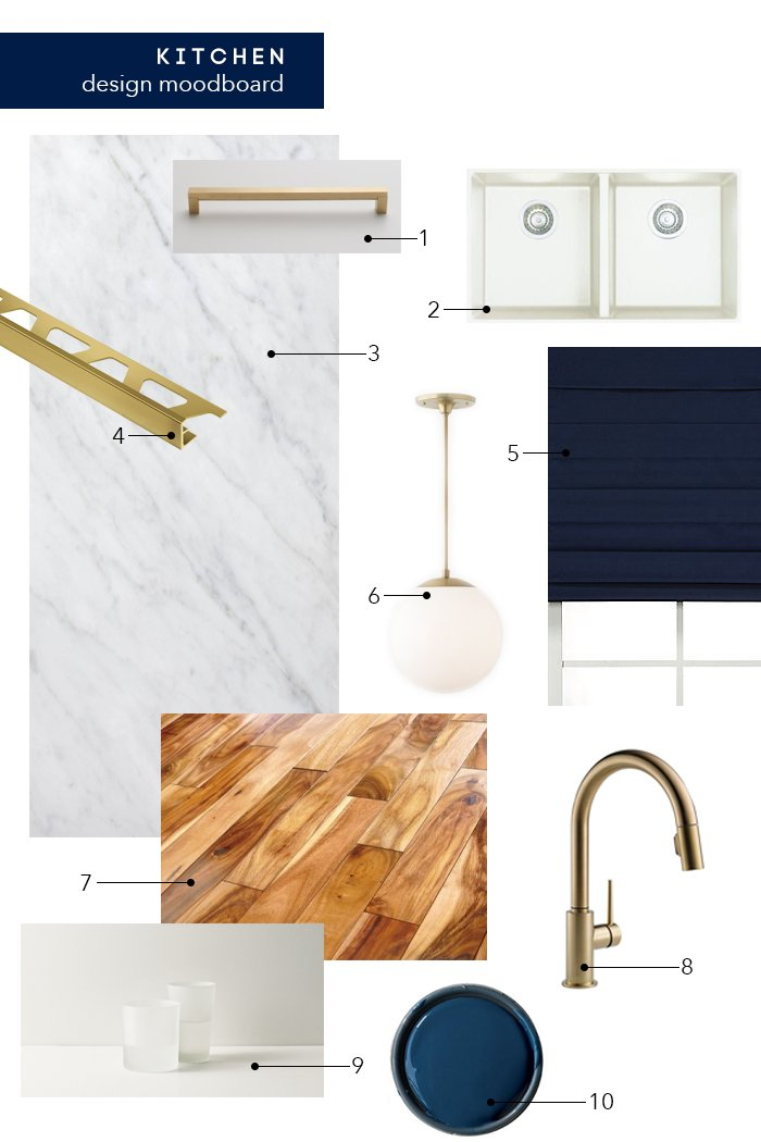 Kitchen Design Moodboard