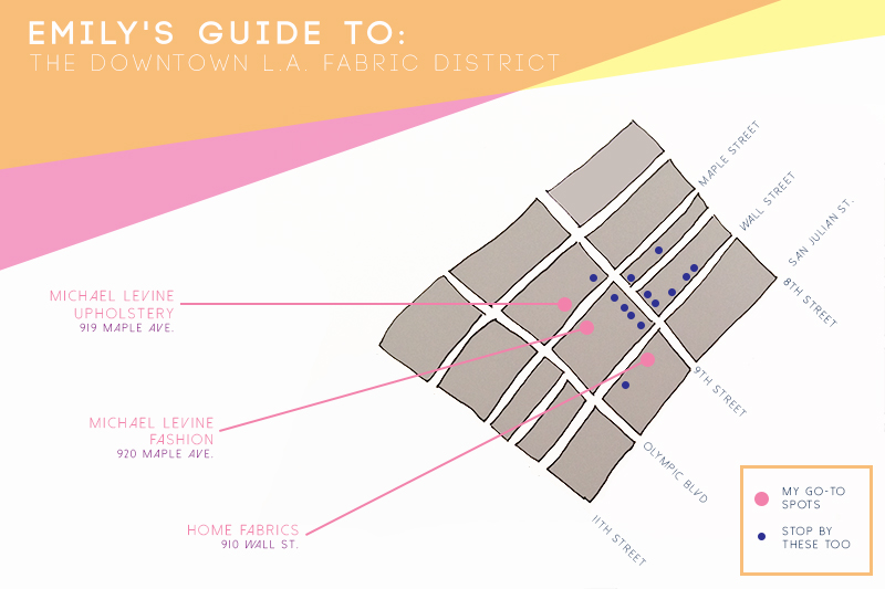 downtown la fashion district map