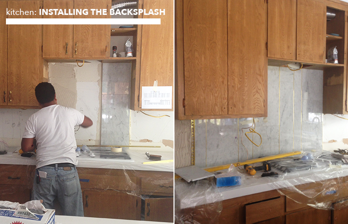 kitchen_installing backsplash