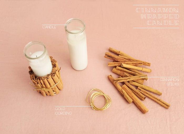 DIY Cinnamon Wrapped Candle_ingredients