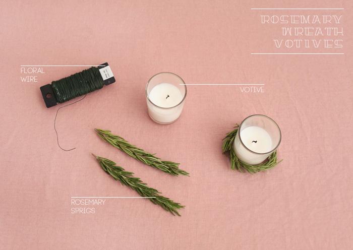DIY Rosemary wreath votives_ingredients