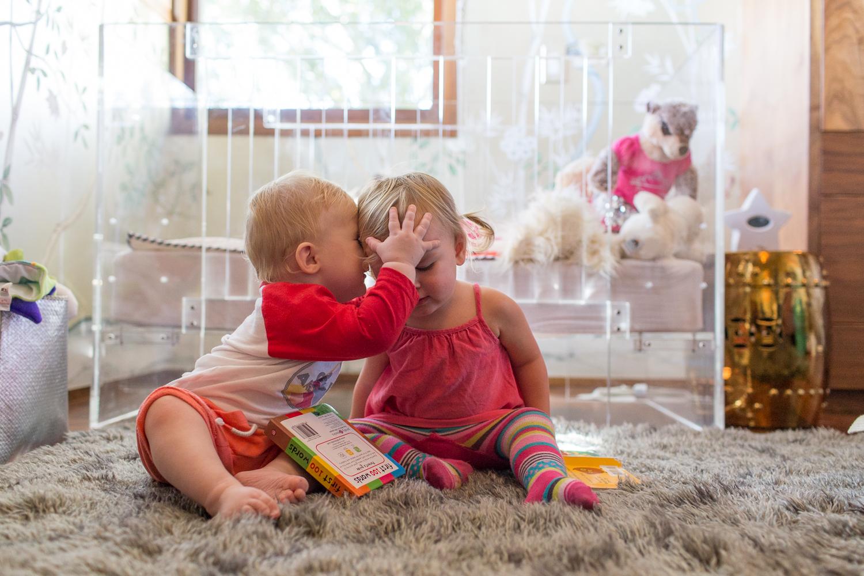 Modern Glam Nursery Lucite Metallic Childrens Room Lucite Crib 2